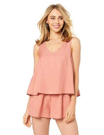 All About Eve Women's Dahlia Playsuit, Rust, 10