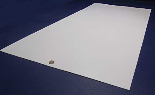 PTFE Virgin Teflon Sheet 1//16 .062 x 24 x 48
