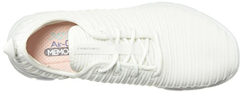 Appeal White 0 Skechers Flex Sneakers Estates 2 Women's ESAHRwqF