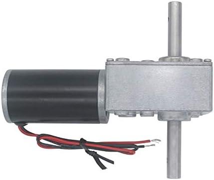 NO LOGO WJN-Motor Gr/ö/ße : 12 RPM 1pc DC 12V Getriebe Schneckengetriebemotoren Wendegetriebemotor mit hohem Drehmoment Getriebemotor 12-470RPM Elektro Getriebe Reducer Motor