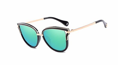 Intellectuality Ojos Gafas Sol de polarizadas Retro de D Gafas Mujer Sol de Hombre D Personalidad rrqxpwvRf
