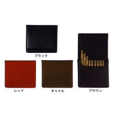 ウサス シガレット&シガリロケース 12本 (喫煙具シガー用品) キャメル B006AY3RY6キャメル