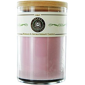Rose Massage Soy Candle (Rose Candle Scent)