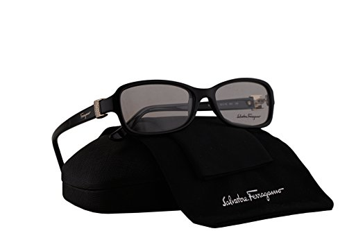 Salvatore Ferragamo SF2654R Eyeglasses 52-16-135 Black w/Clear Lens 001 SF - Glasses Reading Ferragamo