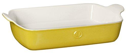 yellow ceramic cookware - 5