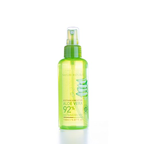 Price comparison product image Nature Republic Soothing & Moisture Aloe Vera 92% Gel Mist, 150 Gram