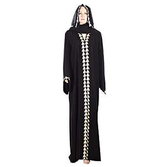 Abuhaliqa Black Casual Abaya For Women