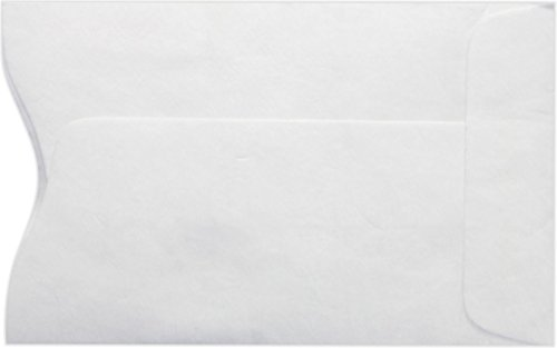 Credit Card Sleeve (2 1/4 x 3 1/2) - 14lb. Tyvek (50 Qty.) | Perfect for The Holidays, Gift Cards, Credit Cards, Debit Cards, ID Cards and More! | PC1801PL-50