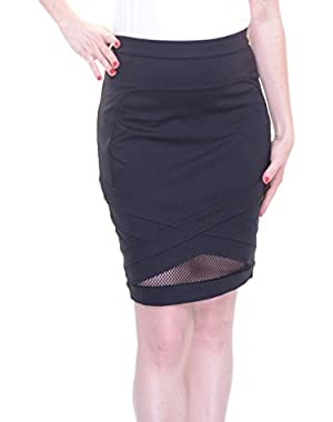 Guess Women's Skirt Black Size M
