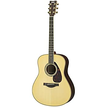 yamaha l series ll16 acoustic electric guitar with gig bag natural musical. Black Bedroom Furniture Sets. Home Design Ideas