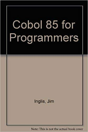 Cobol 85 for programmers investment comforex plus commerzbank