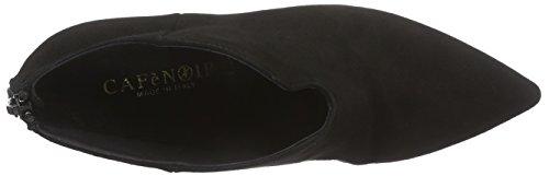 CAFèNOIR Half-Boots - botas de caño bajo de piel mujer negro - Schwarz (010 NERO)