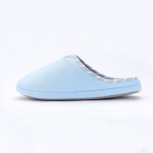 36 Autunno Rosa Ciabatte Dimensioni E Colore 34 Interno A In Maglia Blu Con Pantofole Donna Coperchio Zhirong Inverno OwqzZz