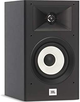 JBL 2-Way 5.25 POLYCELLULOSE Woofer, 1 Aluminum-Dome Tweeter Home Audio Bookshelf Loudspeakers Pair, Black