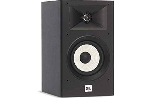 "JBL 2-Way 5.25"" POLYCELLULOSE Woofer, 1"" Aluminum-Dome Tweeter Home Audio Bookshelf Loudspeakers (Pair, Black)"
