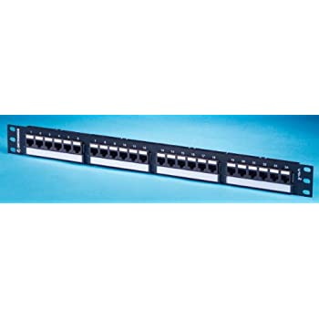 Computers/tablets & Networking Ortronics Or-pha66u24 Cat6 24-port 1u Patch Panel In Short Supply