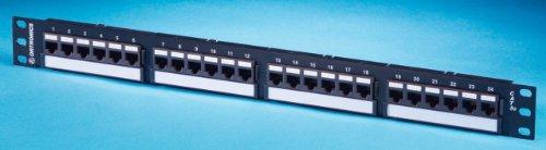 Ortronics TechChoice Cat6 24-Port 1U Universal Patch Panel OR-SP6U24 Multiport Module