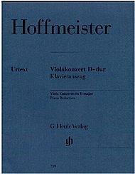G. Henle Verlag Viola Concerto D Major By Hoffmeister