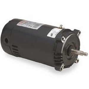 Motor Replacement Emerson Spa - Century Electric UST1202 2-Horsepower Up-Rated Round Flange Replacement Motor (Formerly A.O. Smith)