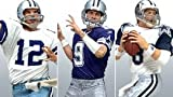 McFarlane Toys NFL Sports Picks Exclusive Dallas Cowboys QB Chronology Action Figure 3-Pack (Roger Staubach, Troy Aikman & Tony Romo)