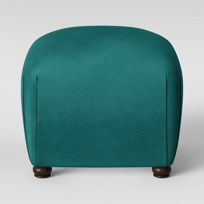 Poppy Ottoman Velvet Teal - Opalhouse153; Velvet Teal by opalhouse™
