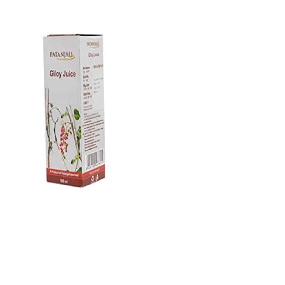 Patanjali Giloy Juice 500ml - Pack of 2