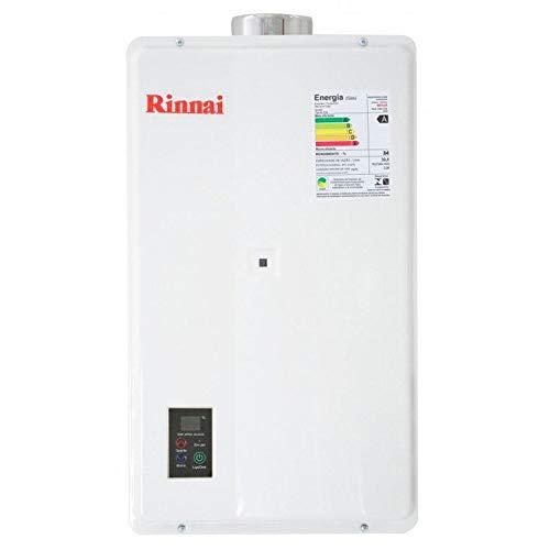 Aquecedor de Água a Gás GLP 32.5L Bivolt - REU2402FEH - RINNAI - AQUECEDOR DE AGUA A GAS GLP 32.5L BIVOLT