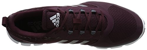888591556904 - adidas Performance Men's Speed Trainer 2 Training Shoe, Maroon/Carbon Metallic/Tech Grey/Metallic, 10 M US carousel main 7