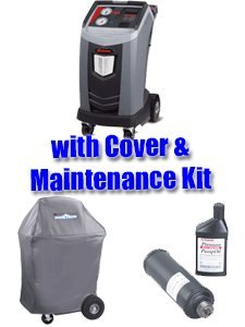 (ROB-34788NI-KIT Premier R-134A Refrigerant Recovery, Recycling, and Recharging Machine w/cover and maintenance kit)
