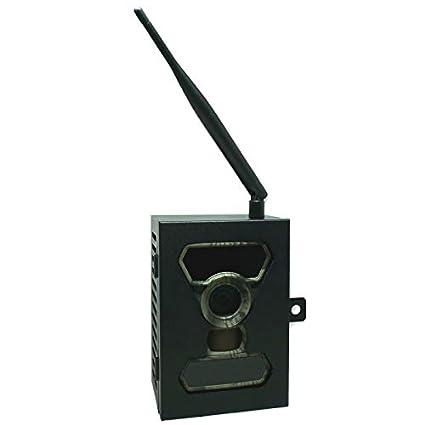 Alarma A9 inalámbrica GSM con sirena interior y exterior + ...