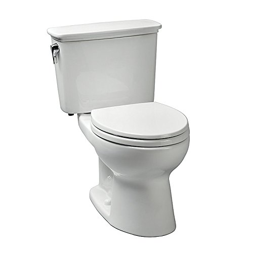 Toto CST744EN#01 Eco-Drake Elongated Bowl Toilet, Cotton