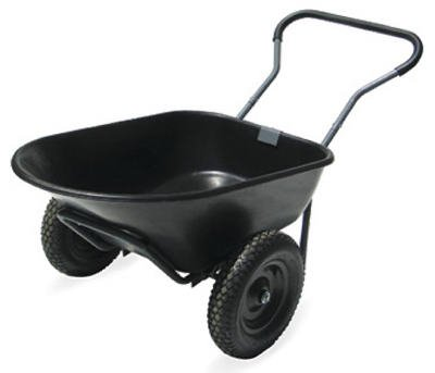 Dura Cart 6 Cubic Foot Economy Cart by High Country Plastics