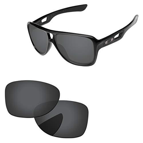 PapaViva Lenses Replacement for Oakley Dispatch 2 Black Grey