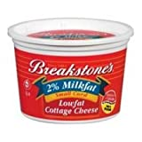 Kraft Breakstones Small Curd Cottage Cheese, 16 Ounce -- 12 per case.