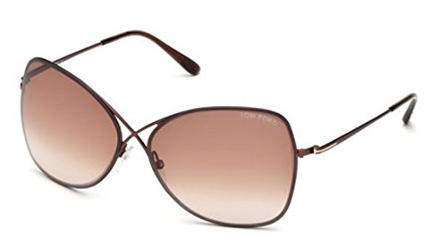 Tom Ford Sunglasses TF 250 BRONZE 48F Collete (Ford Tom Sunglasses)