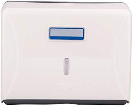 DONEMORE7 Toilettenpapierhalter, Wandmontage Handtuchspender Modern ABS Papier Handtuchspender Restaurant für Badezimmer WC, nicht null, weiß, Free Size