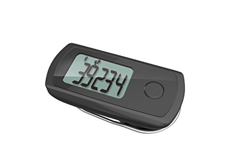WEGO Elite Activity And Sleep Tracker With One Button Function Toggle, Powered By The Map My Fitness App (Tracker Wego Activity)