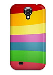Protection Case For Galaxy S4 / Case Cover For Galaxy(nice Rainbow Wall )