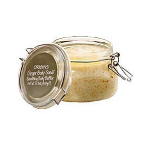 Origins Ginger Body Scrub Smoothing Body Buffer, 21.2 oz
