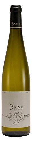 Alsace Gewurztraminer Tête De Cuvée AOC 2012 - Halbtrockener französischer Weißwein aus dem Elsass