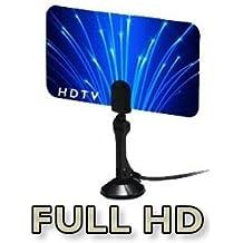 Digital Flat Thin Leaf Tv Antenna HDTV Antenna UHF/VHF FM Radio
