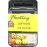 Apex FJH42X Floating Jig Head 4, 5-Pack (Chartreuse)