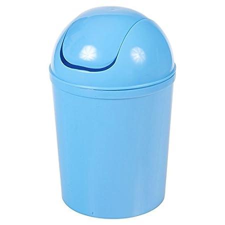 5 Litre Schwingdeckel Mülleimer - Blau Easygift