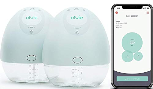 Learn More About Elvie Pump Double Silent Wearable Breast Pump with App - Electric Hands-Free Portab...