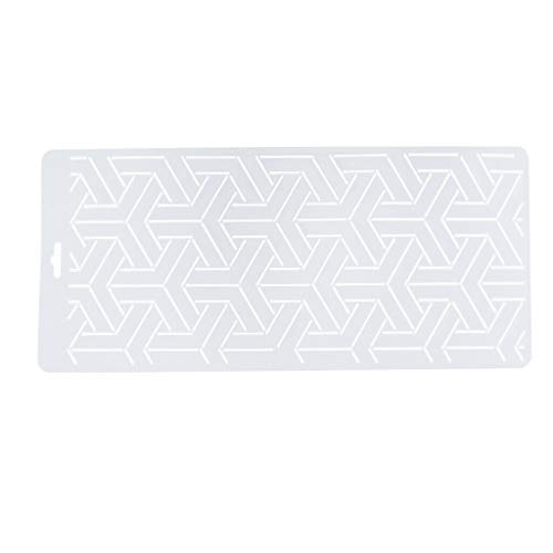 (1pc Plastic Embroidery Quilting Templates Stencils for Sewing Needlework Craft   Style - 4#)