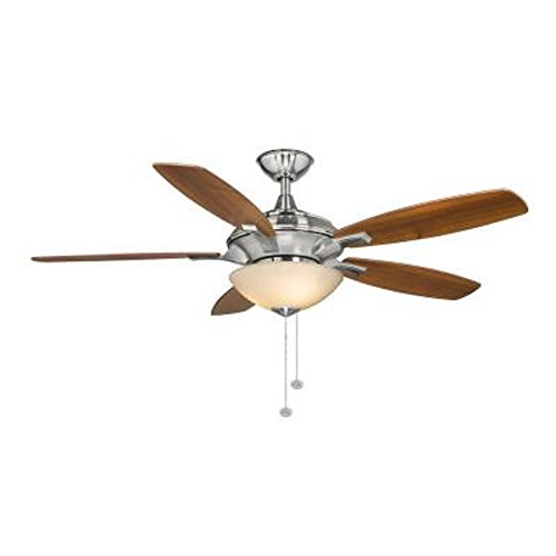 Hampton Bay Springview 52 in. Brushed Nickel Ceiling Fan 750809