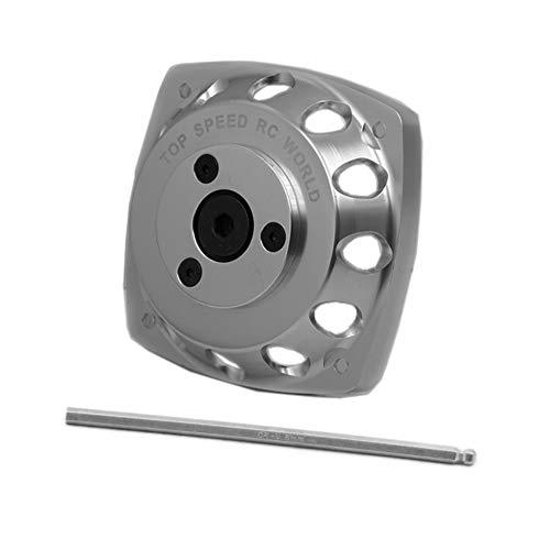 FLMLF Aluminum Roto Starter Fit 23CC-30CC Engine for HPI Rovan KM 1/5 Rc Buggies Baja Fit for HPI FG Losi Rovan KM Baja GoPed FG Losi 5ive T RedCat