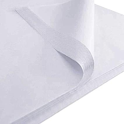 50 Sheets Grey Tissue Paper 500x750 Acid Free