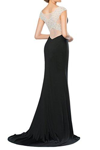 Prom Style Damen Elegant Tuell Abendkleider Ballkleider Cocktailkleider Etui Lang Partykleider Schleppe