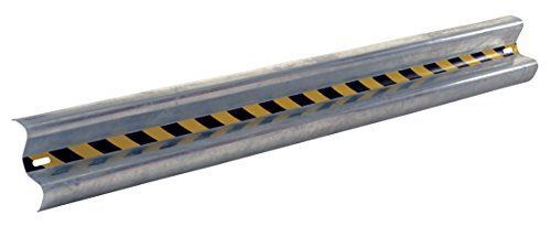 (Vestil GR-8 Galvanized Straight Guard Rail, 96